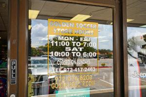 Golden Soccer Carrollton Store Hours