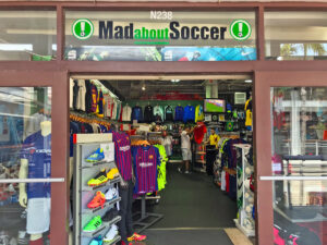 Mad About Soccer Bayside Marketplace Storefront
