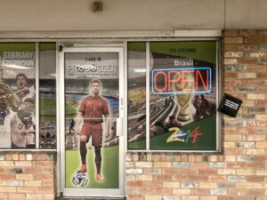 Pro Soccer College Station Entry