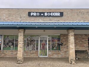 Pro Soccer College Station Storefront