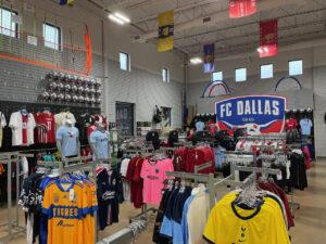 Soccer City Frisco Inside