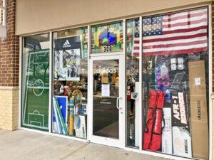 Soccer Post McKinney Storefront Window