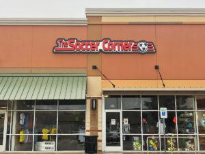 The Soccer Corner Lewisville Storefront