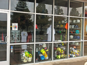 The Soccer Corner Lewisville Front Window
