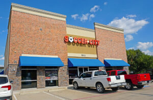 Soccer City Lewisville Storefront